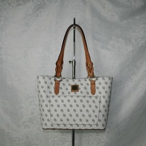 DOONEY AND BOURKE BLAKELY SMALL TAMMY TOTE BONE